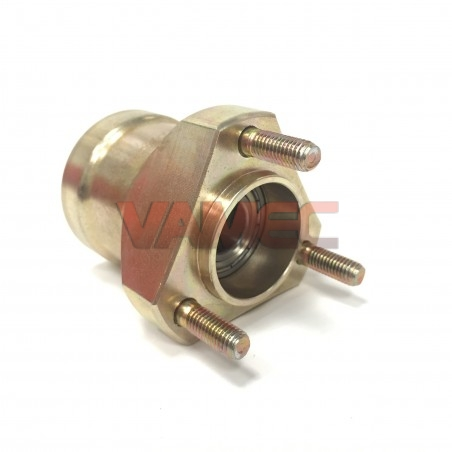 Magnesium front wheel hub D.17x65mm