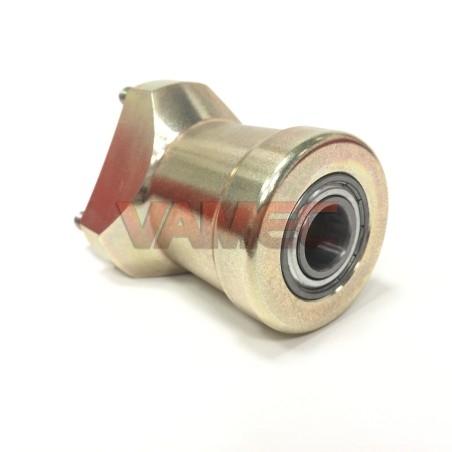 Mozzo anteriore in magnesio D.17x80mm