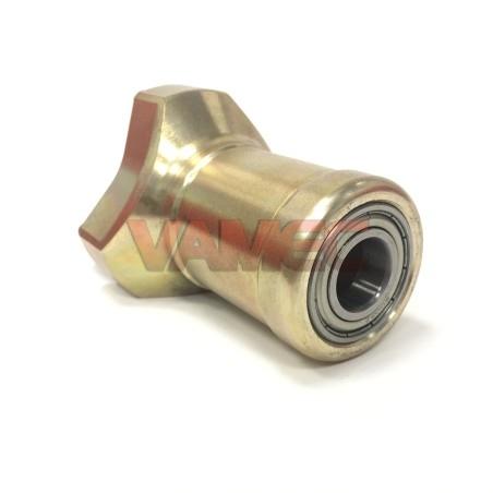 Mozzo anteriore in magnesio D.17x90mm