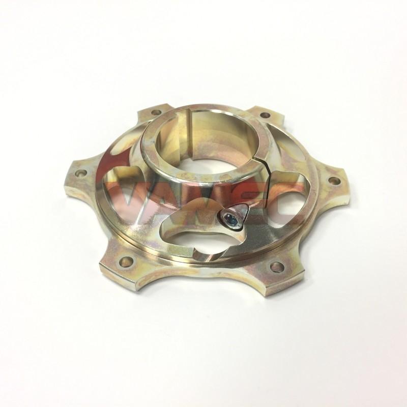 Portacorona in Magnesio D.50x116mm