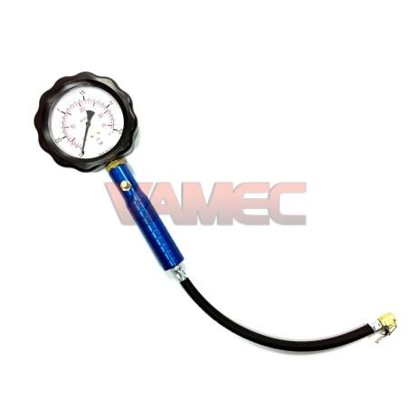 Manometer pressure tyre