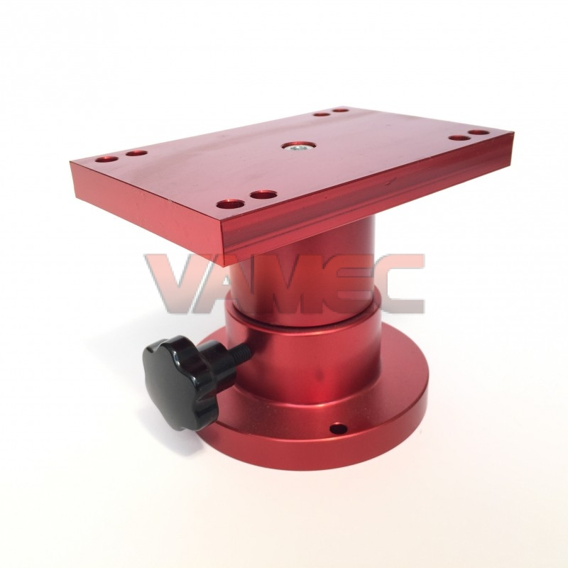 Rotating pedestal for engine mounting