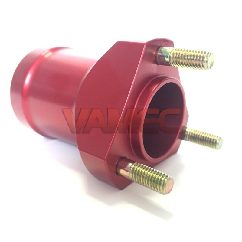 Aluminium front wheel hub D.17x80mm