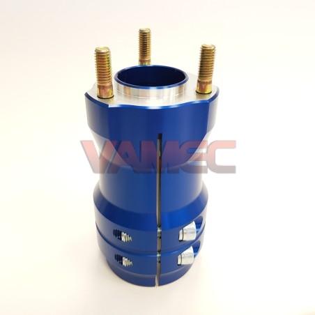 Aluminium rear wheel hub D.50x125mm