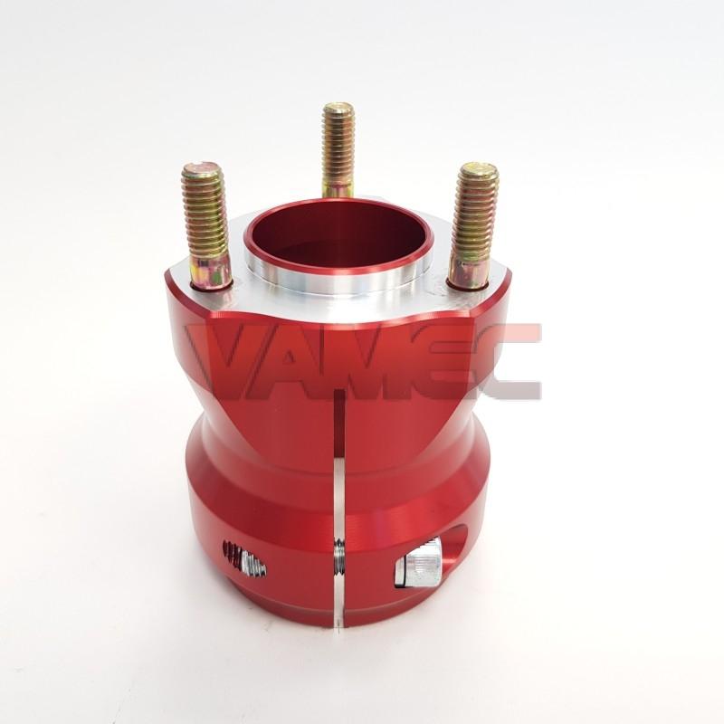 Aluminium rear wheel hub D.50x80mm