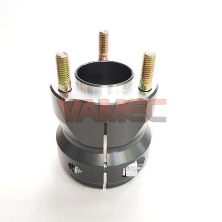 Aluminium rear wheel hub D.50x75mm