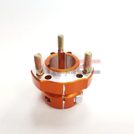 Aluminium rear wheel hub D.30x50mm Key 6/8mm