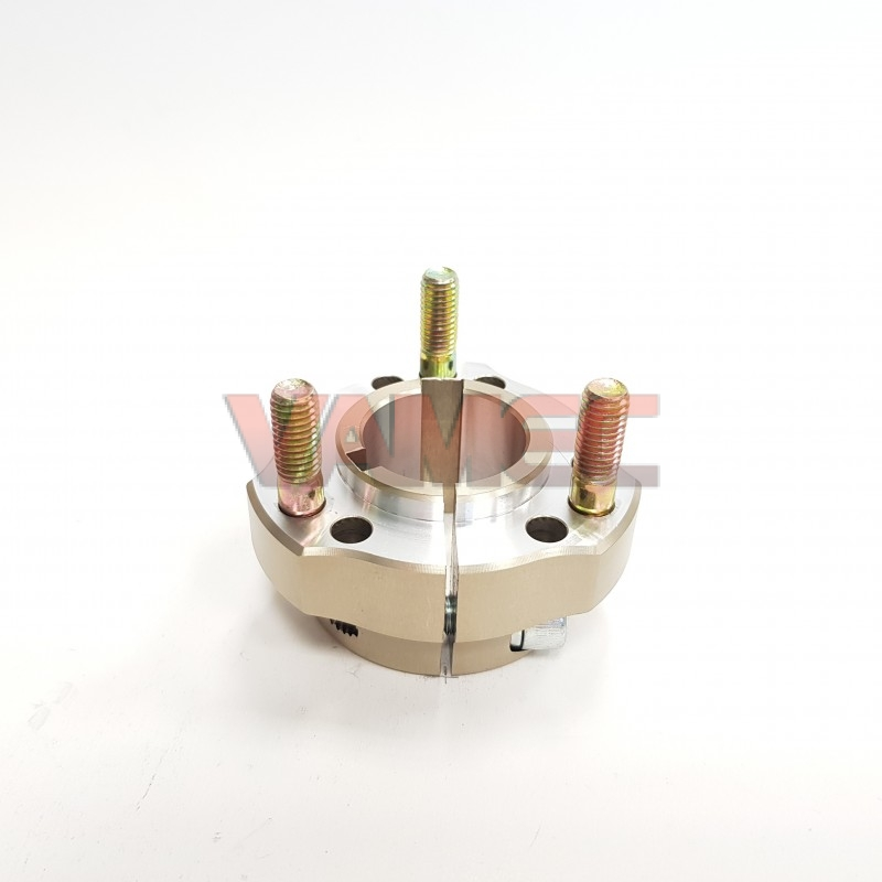 Aluminium rear wheel hub D.30x30mm Key 6/8mm