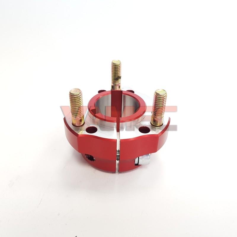 Aluminium rear wheel hub D.30x35mm Key 6/8mm
