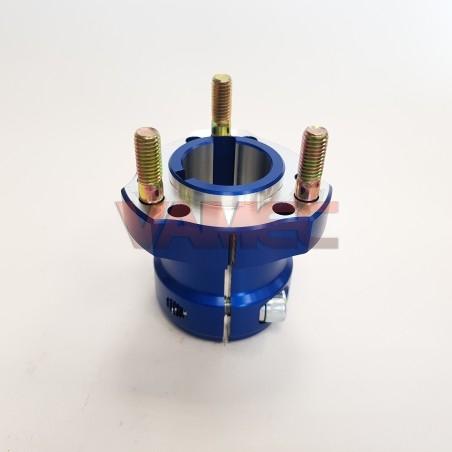 Aluminium rear wheel hub D.30x60mm Key 6/8mm