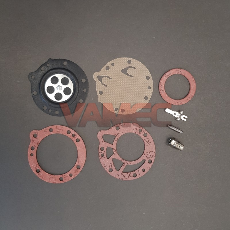 Complete repair kit with valve hole d. 2,3