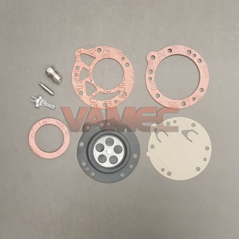 Complete repair kit with valvel hole D. 1.6