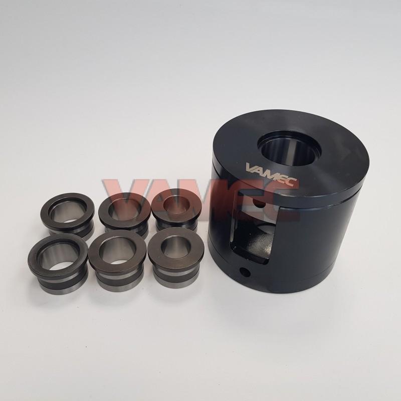 Crankshaft press complete with bushes D.25 - D.30 - D.31,5
