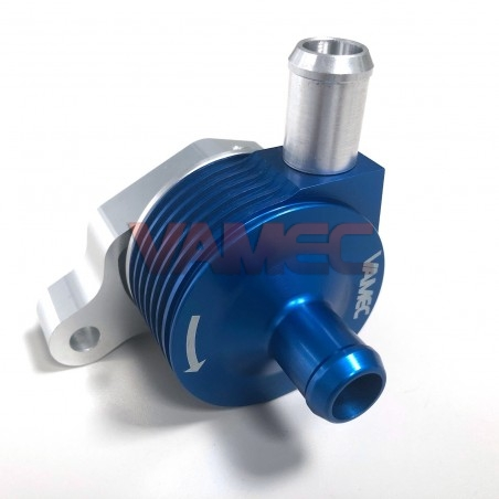 Toothed racing water pump