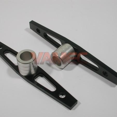 Set piastre convergenza D.25mm