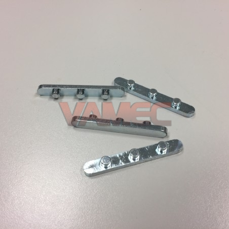 D.30mm Axle key 8mm 3 pins D.5.8mm