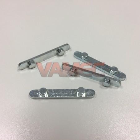 D.50mm Axle key 8mm 2 pins D.7.5mm