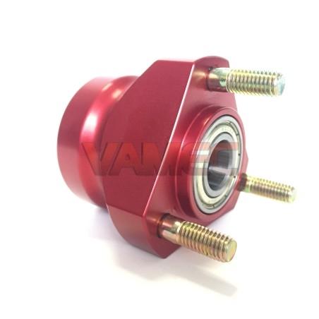 Aluminium front wheel hub D.17x50mm