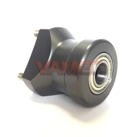 Aluminium front wheel hub D.17x65mm