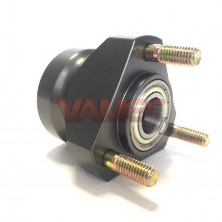 Aluminium front wheel hub D.17x50mm