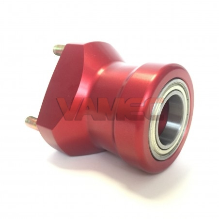 Aluminium front wheel hub D.25x65mm