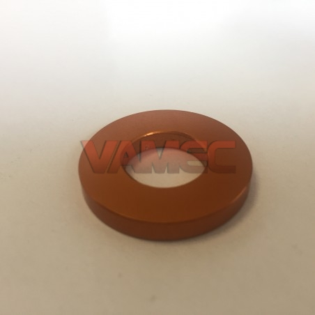Security stub axle washer