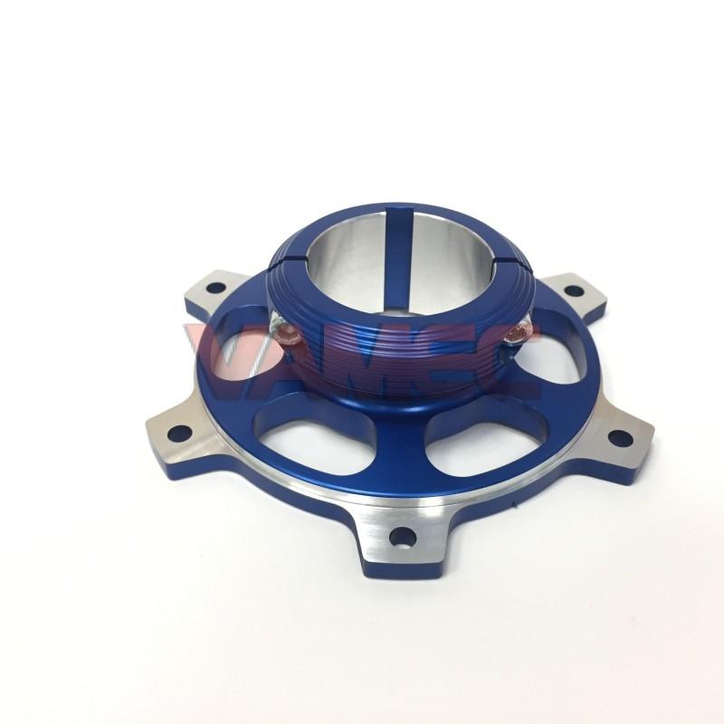 Portacorona in alluminio D.50x116mm