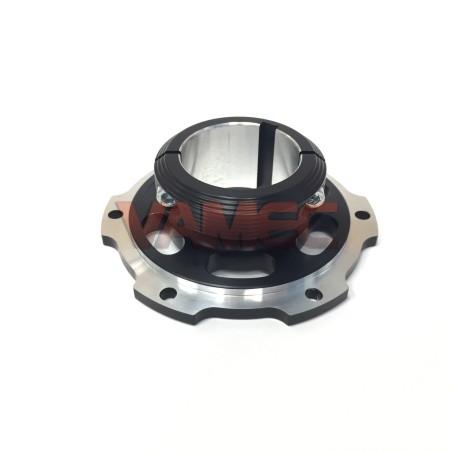 Portacorona / Portadisco in alluminio D.50X100mm