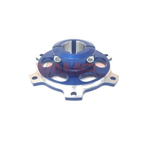 Aluminium Sprocket Carrier / Brake disk D.30x100mm Key 6/8mm